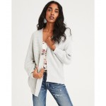 AE Chenille Oversized Cardigan Sweater