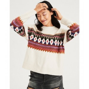 AE Pattern Pullover Sweater