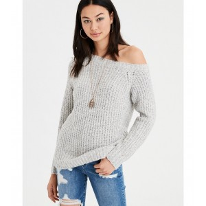 AE One Shoulder Pullover Sweater