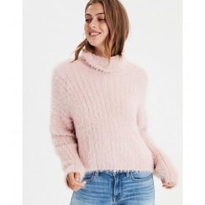 AE Eyelash Turtleneck Sweater