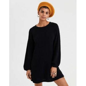 AE Balloon Sleeve Sweater Dress