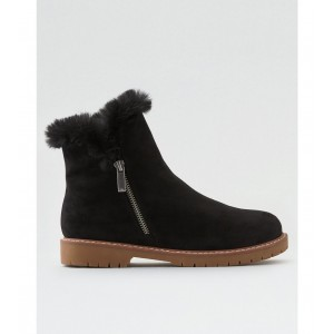 AEO Fur-Lined Zip Boot