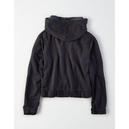아메리칸이글 AE Cinched Full Zip Top