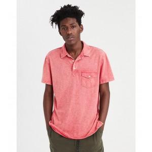 AE Self Collar Jersey Polo