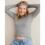Aerie Real Soft Ribbed Turtleneck