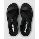 Rocket Dog Lil Black Platform Sandals