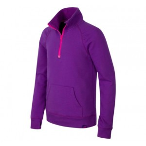 Girls Quarter Zip Pullover