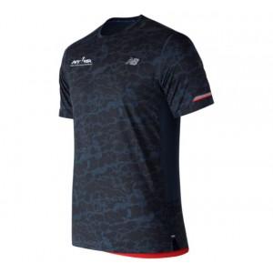 Men's Run 4 Life NB Ice 2.0 Printed Short Sleeve