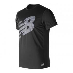 Men's Printed Accelerate Short Sleeve