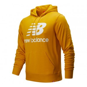 Mens Essentials Stacked Pullover Hoodie
