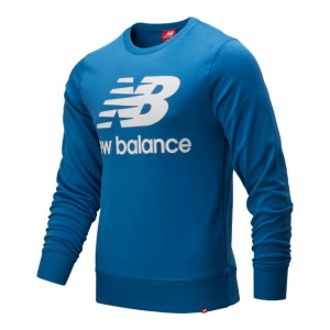 Mens Essentials Stacked Long Sleeve Crew