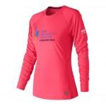 Womens 2018 NYC Marathon NB Ice 2.0 Finisher Long Sleeve