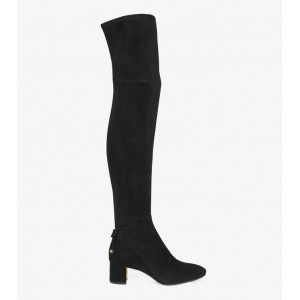 LAILA SUEDE OVER-THE-KNEE BOOT