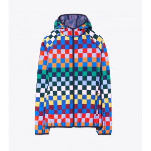 PRINTED PACKABLE JACKET