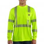 Carhartt Force High-Visibility Long-Sleeve Class 3 T-Shirt