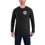 Force Cotton Delmont Long-Sleeve Graphic T-Shirt