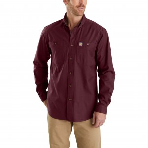 Rugged Flex Rigby Long-Sleeve Work Shirt