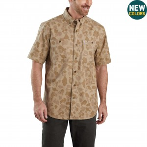 Rugged Flex Rigby Short-Sleeve Work Shirt