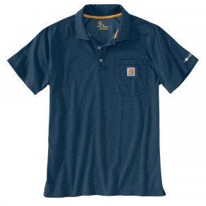 Carhartt Force Cotton Delmont Pocket Polo