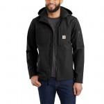 Hooded Rough Cut Jacket