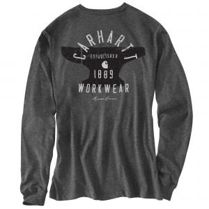 Workwear Hamilton Signature Graphic Long-Sleeve Pocket T-Shirt