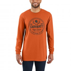 Workwear Hunt Rugged Outdoors Graphic Long-Sleeve T-Shirt