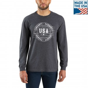 Lubbock Carhartt USA Graphic Long-Sleeve T-Shirt