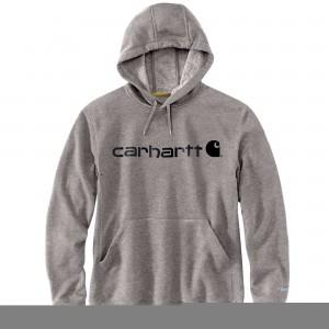 Carhartt Force Delmont Signature Graphic Hooded Sweatshirt