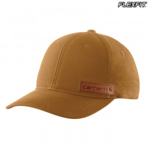 Rugged Flex Canvas Full-Back Fitted Logo Graphic Cap