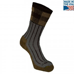 Timberville Plaid Crew Sock