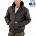 Duck Quilted Flannel-Lined Active Jac