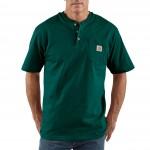 Workwear Short-Sleeve Henley T-Shirt