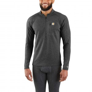 Base Force Heavyweight Poly-Wool Quarter-Zip