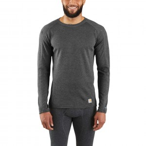 Base Force Heavyweight Poly-Wool Crew (No Pocket)