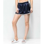 FILA Blanche Navy Satin Shorts