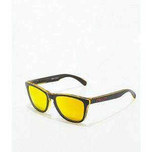 Oakley Frogskins Grips Black, Yellow & Fire Sunglasses