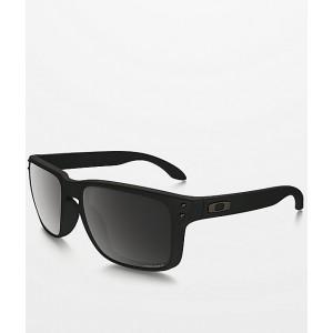 Oakley Holbrook Matte Black Prizm Polarized Sunglasses