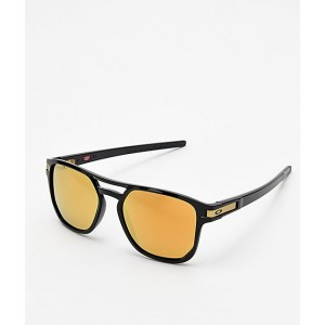 Oakley Latch Beta 24k Black Prizm Polarized Sunglasses
