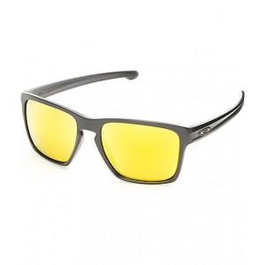 Oakley Sliver XL Matte Black & 24k Iridium Sunglasses