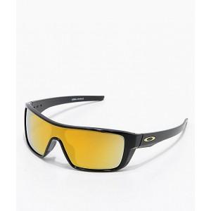 Oakley Straightback Black 24k Iridium Sunglasses