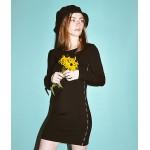 Obey Lynx Black Bodycon Dress