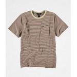 Volcom Boys Preston Striped T-Shirt