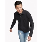 Classic Fit Essential Long-Sleeve Polo