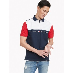 Classic Fit Essential Colorblock Polo