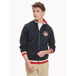 Essential Stripe Trim Track Jacket