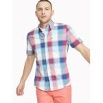 Custom Fit Essential Plaid Short-Sleeve Shirt