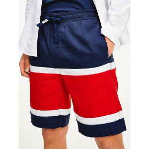 Colorblock Basketball Short