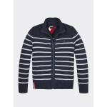 TH Kids Stripe Zip Sweater