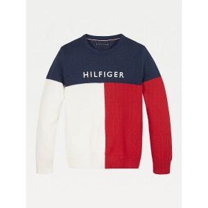 TH Kids Colorblock Sweater