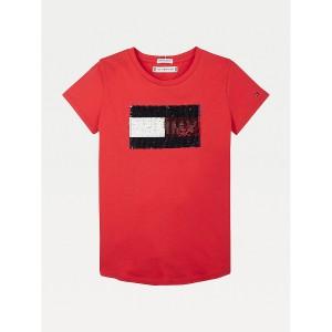 TH Kids Organic Cotton Flip Sequin T-Shirt
